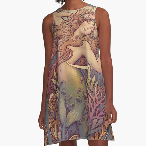 Andersen's Little Mermaid A-Line Dress