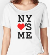 New York Loves Me Women's Relaxed Fit T-Shirt
