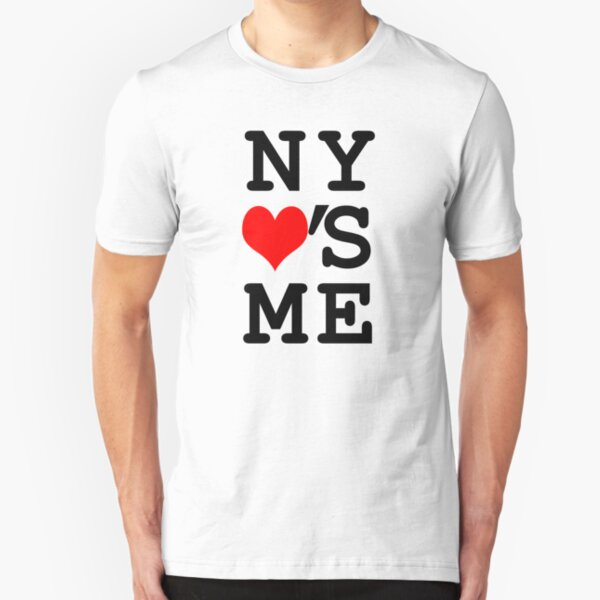 New York Loves Me Slim Fit T-Shirt