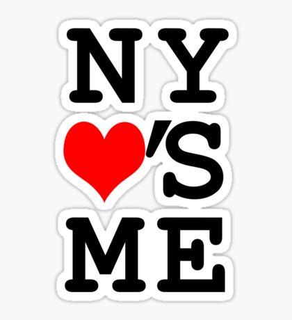 New York Loves Me Sticker