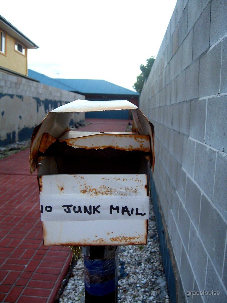 No Junk by gracelouise