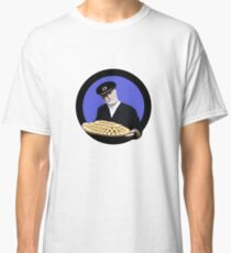 Fish fingers? Captain Birdseye from the seventies and eighties adverts Classic T-Shirt
