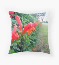 Hedge Master Throw Pillow