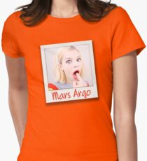 Mars Argo Womens Fitted T-Shirt