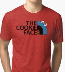 The Cookie Face Tri-blend T-Shirt