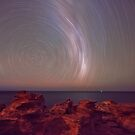 gantheaume  star trail  by Elliot62