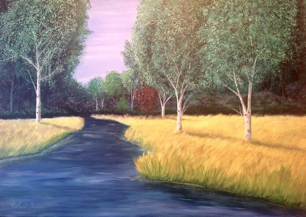 Blue Creek by Robert Allan Miller