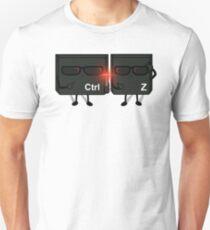 Ctrl+Z in Black! Unisex T-Shirt
