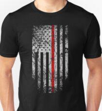 thin red line  Unisex T-Shirt