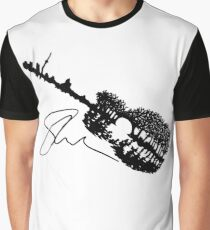 Shawn Mendes Guitar Tattoo & Autograph Graphic T-Shirt