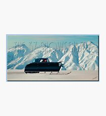 The 37' Snowsenberg Photographic Print