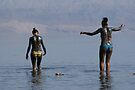 Dead Sea mud by Moshe Cohen