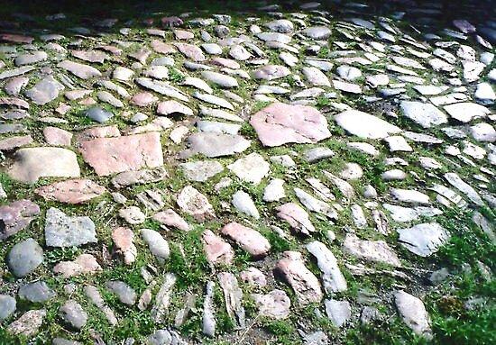 Ancient Granite Pavement by HELUA