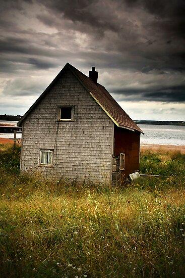 Beach Hut by Annette Blattman