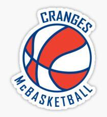 Cranges McBasketball Sticker