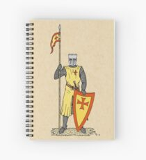 Crusader Knight, Early 13th Century Spiral Notebook