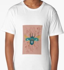 Fancy Stag Beetle Long T-Shirt