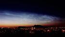 Noctilucent cloud over Arthur's Seat by Duncan Waldron