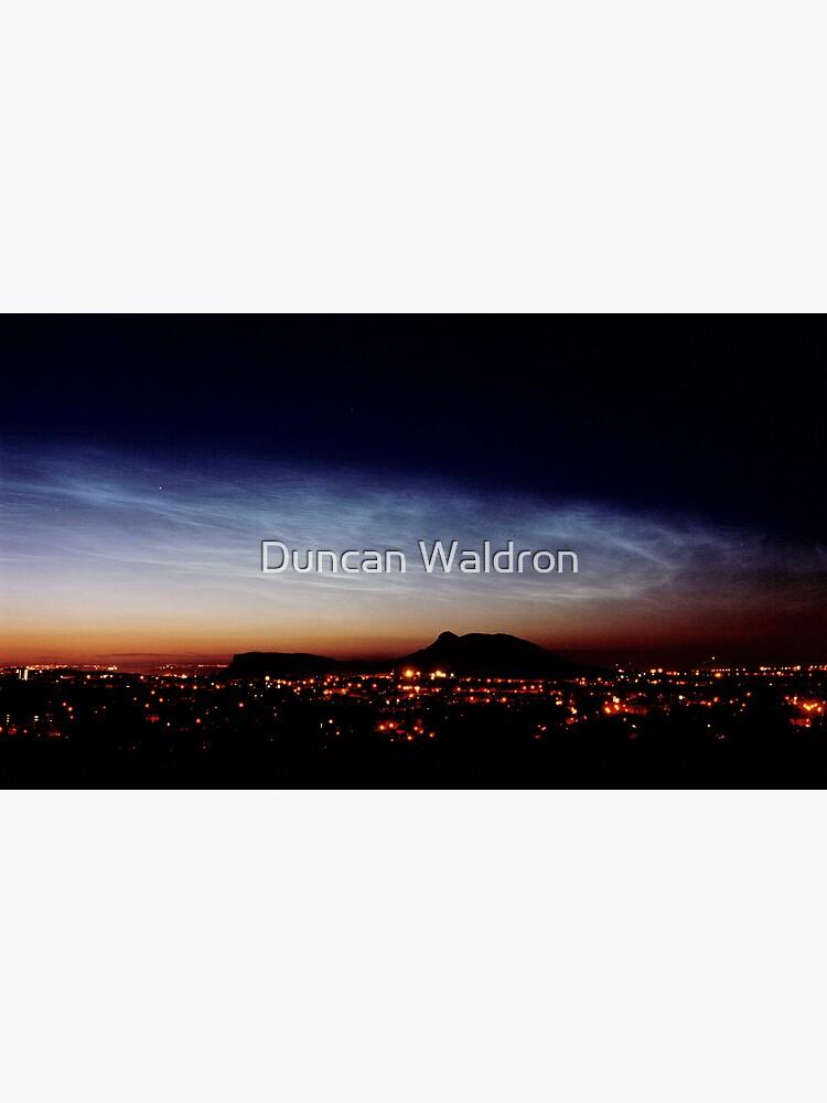 Noctilucent cloud over Arthur's Seat by DuncanW