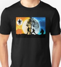 Dayman vs Nightman Unisex T-Shirt