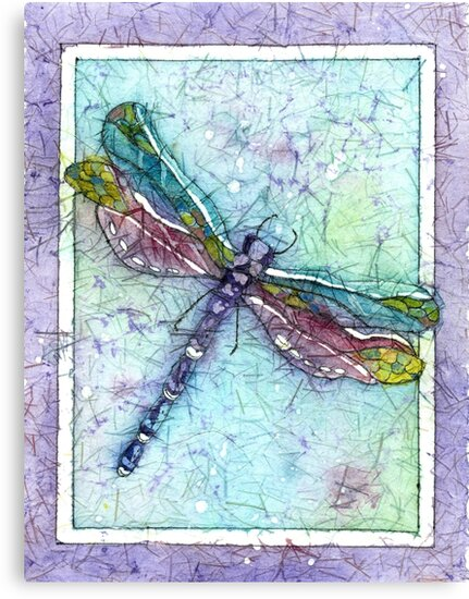 Favorite Dragonfly Art Board Print - Pretty dragonfly decor