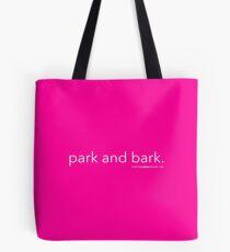 Park and Bark Tote Bag