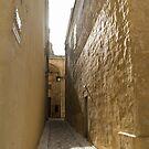 Sunshower - Rain and Sunshine in Mdina, the Ancient Capital of Malta by Georgia Mizuleva