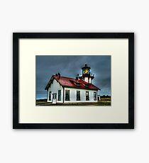Point Cabrillo Lighthouse Framed Print