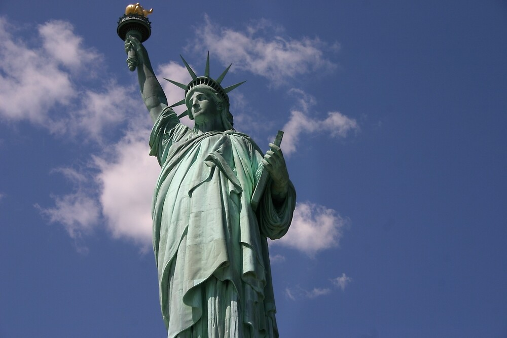 Lady Liberty by banncrawford