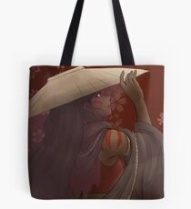 The painted lady - the Last airbender Tote Bag