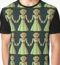 Unique illustrative pattern with painted zozobra  Graphic T-Shirt