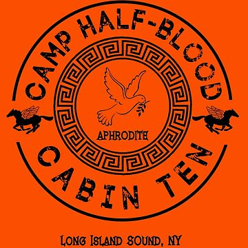 Percy Jackson - Camp Half-Blood - Cabin Ten - Aphrodite by gingerbun