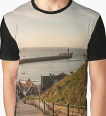 199 Steps Whitby Graphic T-Shirt