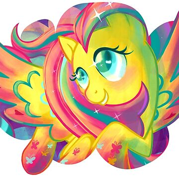 Rainbow Power Fluttershy by GhostlyMuse