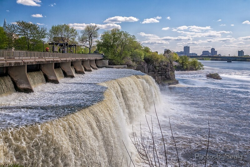 Rideau Falls by Photos by Healy