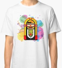 retro jukebox Classic T-Shirt