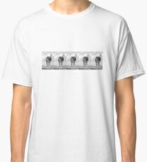 All lined up in white and black #1 Classic T-Shirt