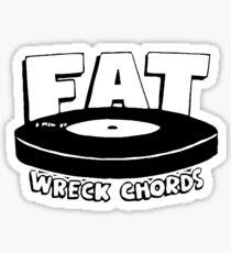 FAT WRECK CHORDS Sticker