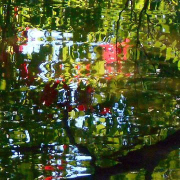 River Reflections, Abstract by Billlee
