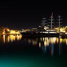 Reflecting on Malta - Vittoriosa and Senglea Megayachts by Georgia Mizuleva