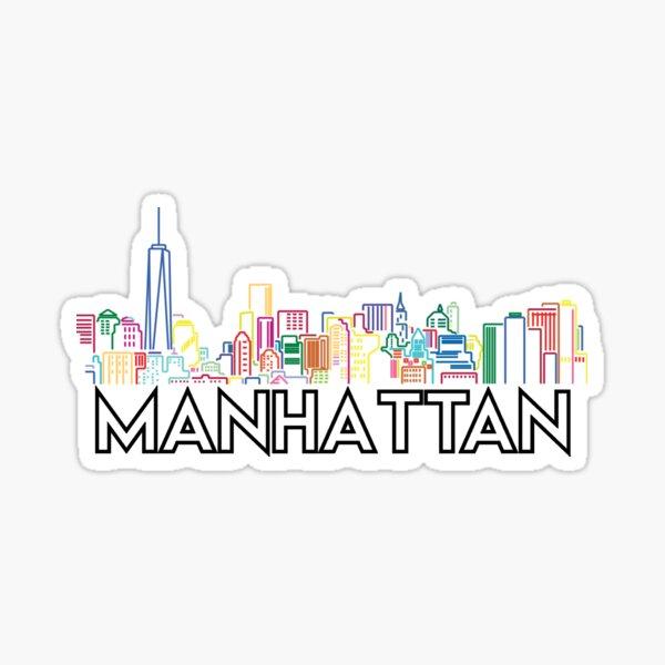Manhattan Skyline Sticker