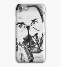 Mike Patton  (Mask-Light) iPhone Case/Skin