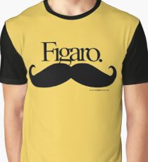 Figaro Mustache Graphic T-Shirt