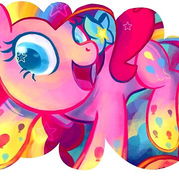 Rainbow Power Pinkie Pie by GhostlyMuse
