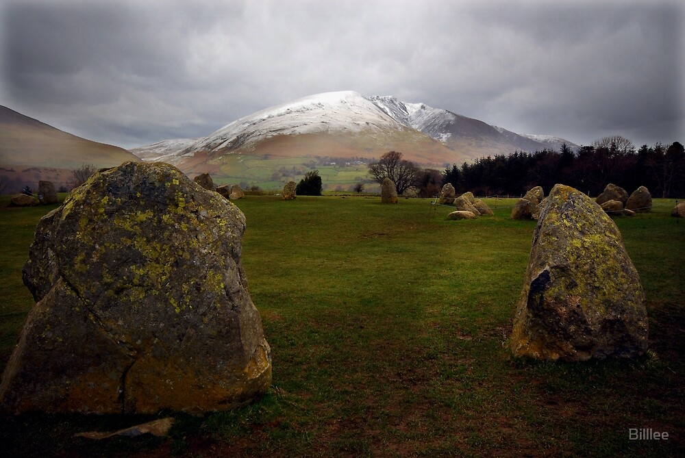 Castlerigg, Nr Keswick, Cumbria. English Lake District. by Billlee
