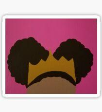 Afro Puff Princess Sticker