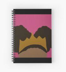 Afro Puff Princess Spiral Notebook