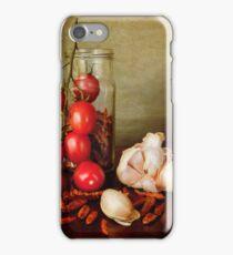 Mediterranean flavors iPhone Case/Skin