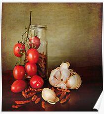Mediterranean flavors Poster