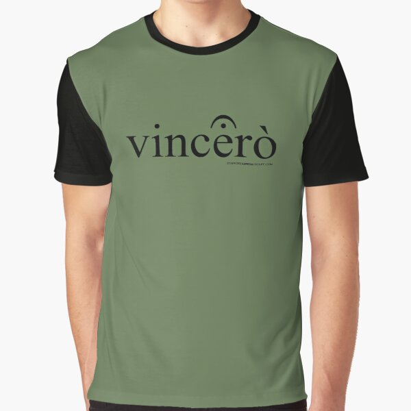 Vincerò Fermata Graphic T-Shirt